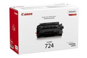 Original Black Canon 724 Toner Cartridge - (3481B002AA)