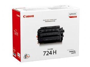 Original High Capacity Black Canon 724H Toner Cartridge - (3482B002AA)