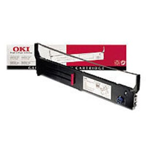 Original Black OKI 43503601 Flatbed Ink Ribbon - 43503601