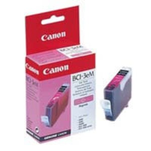 Original Magenta Canon BCI-3EM Ink Cartridge - (4481A002)