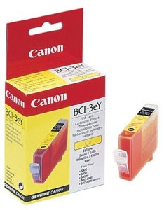 Original Yellow Canon BCI-3EY Ink Cartridge - (4482A002)