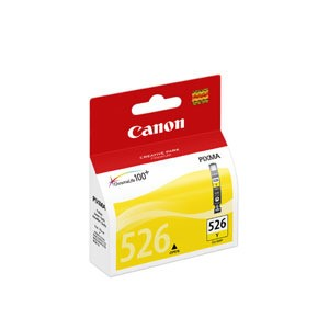 Original Yellow Canon CLI-526Y Ink Cartridge - (4543B001)