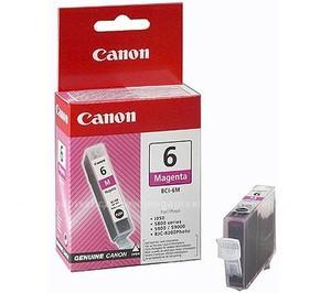 Original Magenta Canon BCI-6 Ink Cartridge - (4707A002)