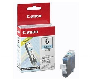 Original Photo Cyan Canon BCI-6PC Ink Cartridge - (4709A002)