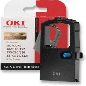 Original OKI Microline Fabric Cassette 09002303 Inkjet Printer Ribbon