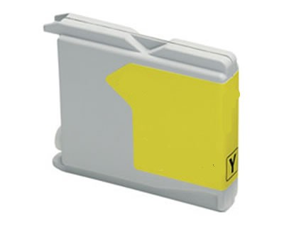 Compatible Yellow Brother LC-1100Y Ink Cartridge (LC1100Y)