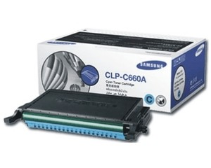 Genuine Samsung Cyan Toner Cartridge (CLP-C660A)