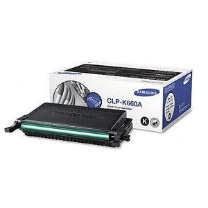 Genuine Samsung Black Toner Cartridge (CLP-K660A)