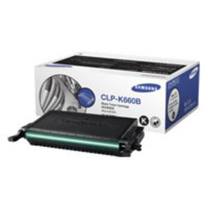 Genuine Samsung High Capacity Black Toner Cartridge (CLP-K660B)