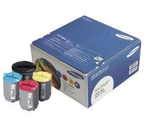 Genuine Samsung CLPP300C 4 Colour Toner Cartridge Multipack (CLP-P300Bk/C/M/Y)