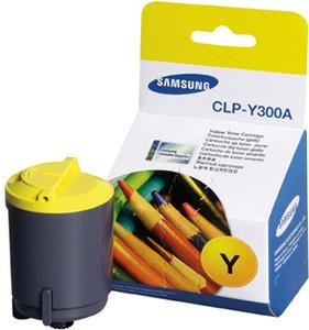 Genuine Samsung CLPY300A Yellow Toner Cartridge (CLP-Y300A/SEE)