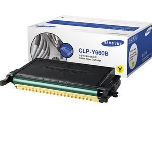 Genuine Samsung High Capacity Yellow Toner Cartridge (CLP-Y660B)