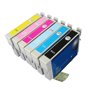 *Compatible T0487 Multipack Epson + 1 FREE Black Cartridge