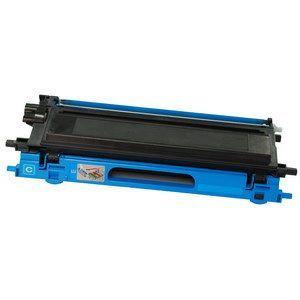 Compatible High Cap Cyan Brother TN135C Toner Cartridge - (TN135C)