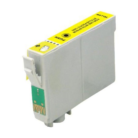Compatible Yellow Epson T0484 Printer Cartridge
