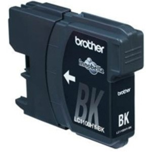 Original Brother LC1100HYBK High Cap Black Ink Cartridge (LC1100HYBK)