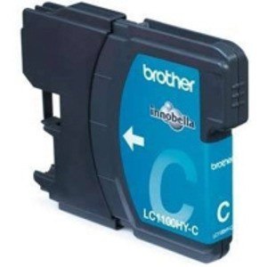 Original Brother LC1100HYC High Cap Cyan Ink Cartridge (LC1100HYC)