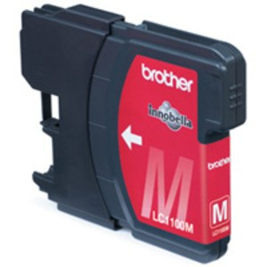 Original Brother LC1100M Magenta Ink Cartridge (LC1100M)