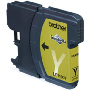 Original Brother LC1100Y Yellow Ink Cartridge (LC1100Y)