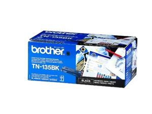 Original Brother TN135BK High Cap Black Toner Cartridge (TN135BK)