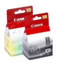 Original Black & Tr-Colour Canon PG40 & CL-41 Ink Cartridge Multi Pack (0615B036AA)