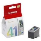 Original Tri-Colour Canon CL-41 Ink Cartridge - (0617B001)