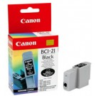 Original Black Canon BCI-21BK Ink Cartridge - (0899A002)