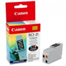 Original Tri-Colour Canon BCI-21C Ink Cartridge - (0955A002)