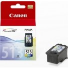 Original High Capacity Tri-Colour Canon CL-513 Ink Cartridge - (2971B001AA)