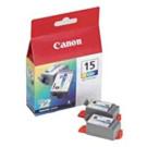 Original Tri-Colour Canon BCI-15C Ink Cartridge Twin pack - (8191A002AA)