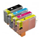 Compatible Multipack 4-Colour Canon BCI-3BK & BCI-6C/M/Y