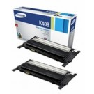 Genuine Black Samsung CLT-P4092B Toner Cartridge Twin Pack - (CLT-P4092B/ELS)