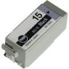 Compatible Black Canon BCI-15BK Ink Cartridge Twin Pack